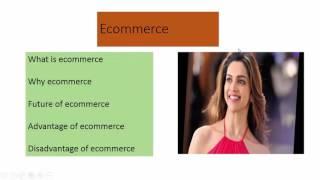 كيفية إنشاء عرض تقديمي عن التجارة الإلكترونية الامتحان النهائي