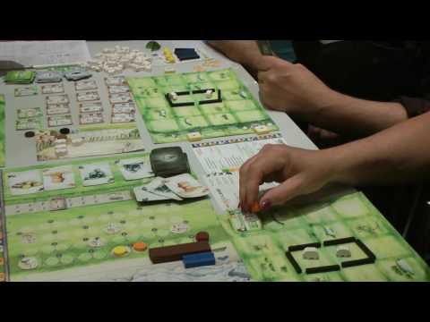 Das tiefe Land (Feuerland) Prototyp Interview - Herner Spielewahnsinn 2017  / Essen 2017