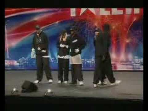 Britain's Got Talent Nemesis Crew Street Dance Group