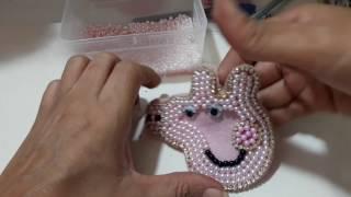Como fazer Peppa Pig pra quem não sabe bordar