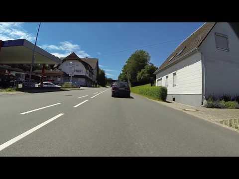 Die L415 zwischen Oberndorf am Neckar und Lindenhof. Video 1v.2