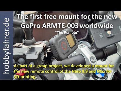 "Mount for the new GoPro ARMTE-003 ""The Remote"" - hobbyfahrer.de"