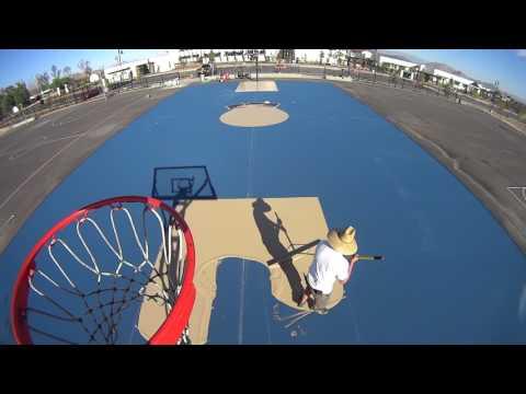 Basketball Court Resurfacing by BBC