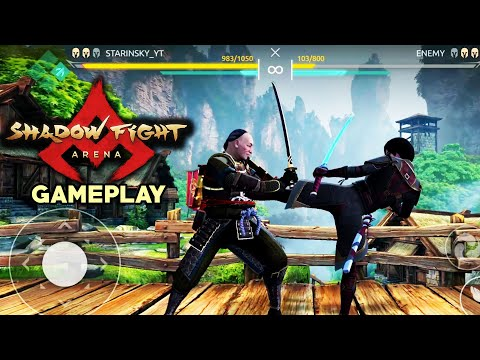 Shadow Fight Arena. Early Gameplay and First Impression. This Game is REVOLUTIONARY!
