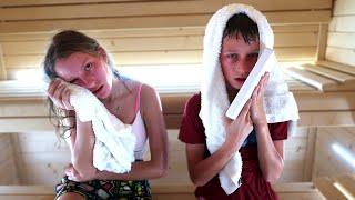 Last to Leave Sauna Challenge 2