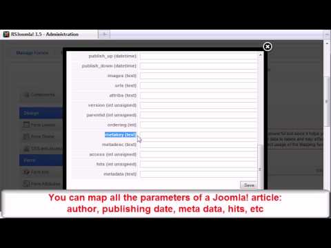 Ep. 67: How To Transform An RSform!Pro Submission  Into A Joomla! Article