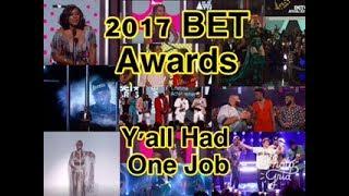 review 2017 bet awards a technical mess recap