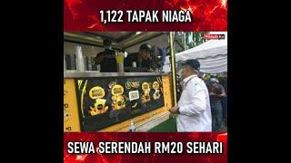 SEWA TAPAK NIAGA SERERENDAH RM20 SEHARI