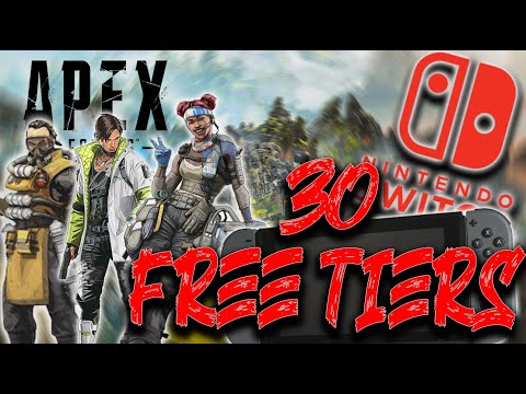 30 FREE TIERS