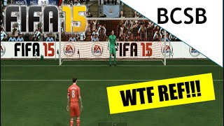 FIFA 15 - Awful Referee Decision!