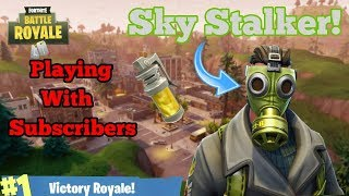 New Sky Stalker Skin! // Great Player // Xbox One // Fortnite
