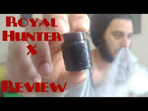 My First Look Royal Hunter X l Council of Vapor Review