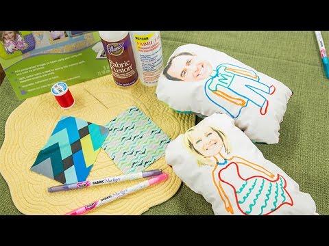 How To - DIY Selfie Pillows - Hallmark Channel