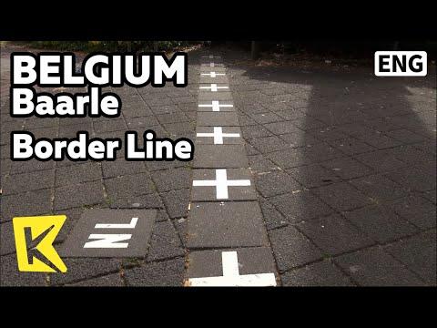 【K】Belgium Travel-Baarle[벨기에 여행-바를러]집 마당의 국경선/Border Line/Frontier/Belgium/Netherlands/Holland