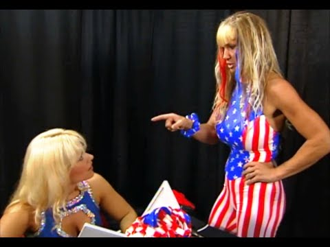 720pHD: WCW Nitro 072699  Mona & Madusa Backstage