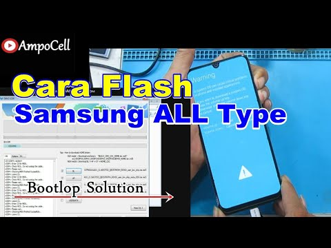 Cara Flashing HP SAmsung Galaxy All Series || Atasi Hang Logo/Bootloop dan Restar - Restar Sendiri