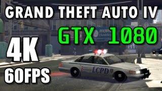 GTA 4 - 4K ULRA - GTX 1080 Frame Rate Test