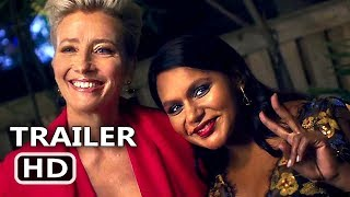 LATE NIGHT Trailer # 2 (NEW 2019) Mindy Kaling, Emma Thompson Movie HD