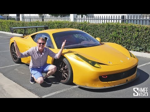 Hooning A Ferrari RACE CAR On PUBLIC ROADS!