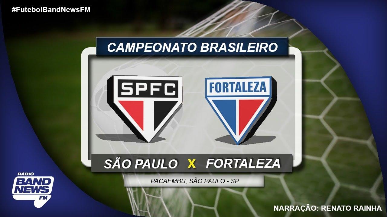 Sao Paulo X Fortaleza Campeonato Brasileiro 05 10 2019 Youtube