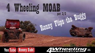 4 Wheeling MOAB, Ronny rolls the Buggy
