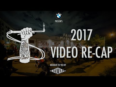 BMW presents The Handbuilt Motorcycle Show 2017 brought to you by Revival