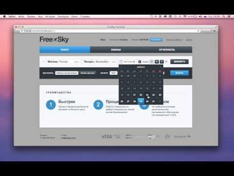 Продажа авиабилетов в турагентствах, кассах и офисах (FreeSky: Веб-терминал)