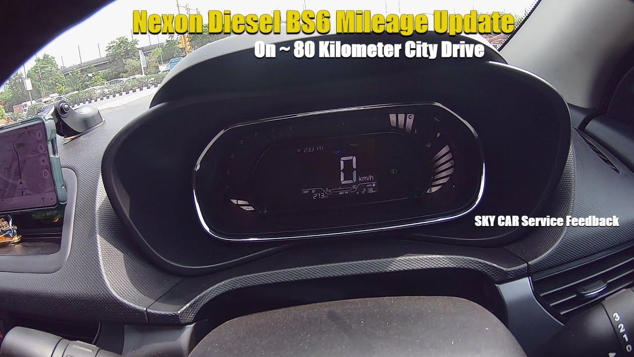 Nexon 2020 BS6 XM Diesel Mileage Update|SKY CAR Feedback|