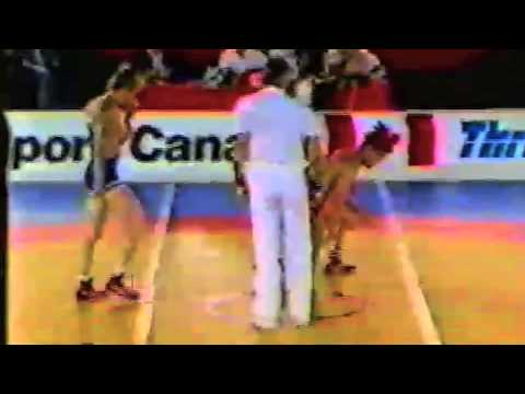1988 Canada Cup: 52 kg Final Kim (KOR) vs. Chris Woodcroft (CAN)