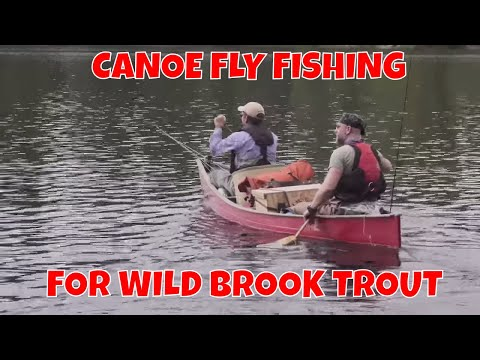 Canoe Fly Fishing For Brook Trout | Temagami