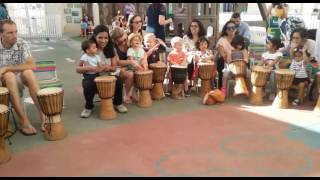 Parent and Toddler Drumming Session with Dubai Drums