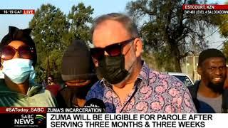 Carl Niehaus arrested outside Estcourt prison during an SABC interview