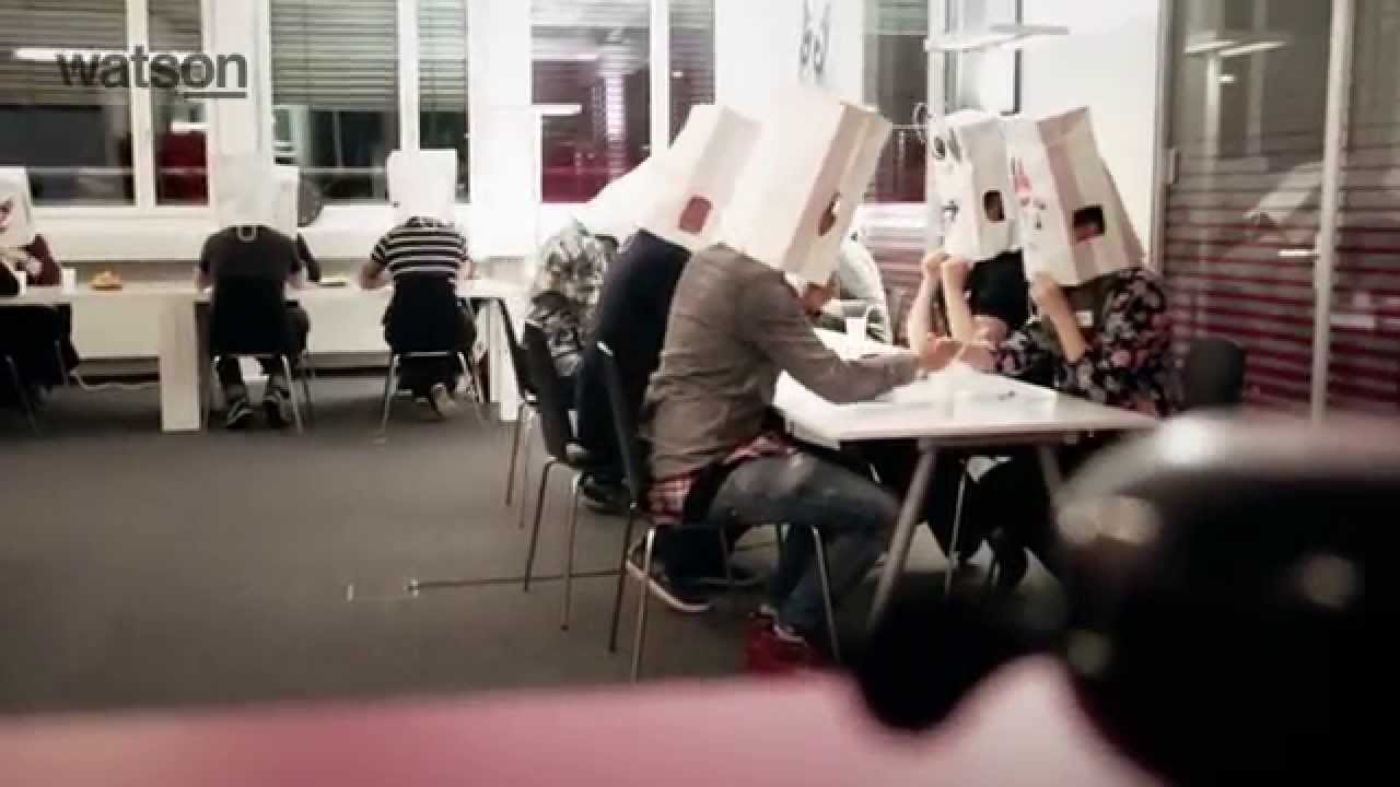 Paper Bag Speed-dating Is Apparently A New Trend