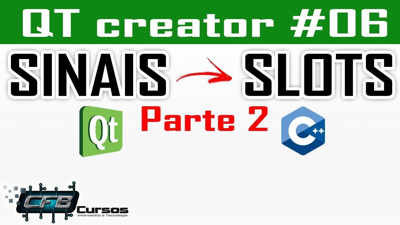 Slots Qt Creator