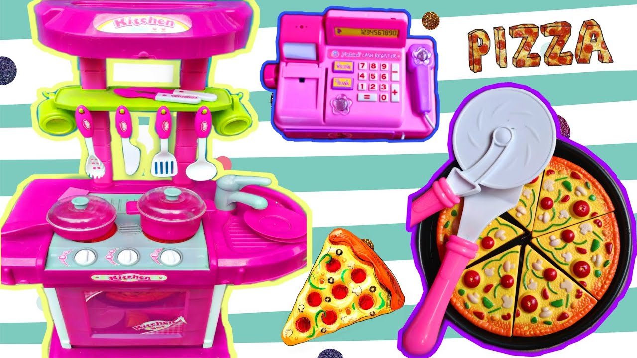 Main Masak Masakan Dan Jualan Pizza Juga Sayuran Drama Anak Youtube