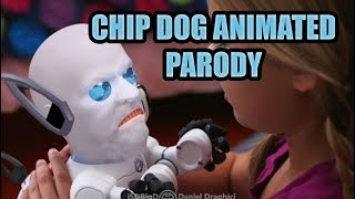 (Animated) Chip Robot Dog Parody (Chip Chipperson Animation, Best of Jim and Sam #jimandsam)