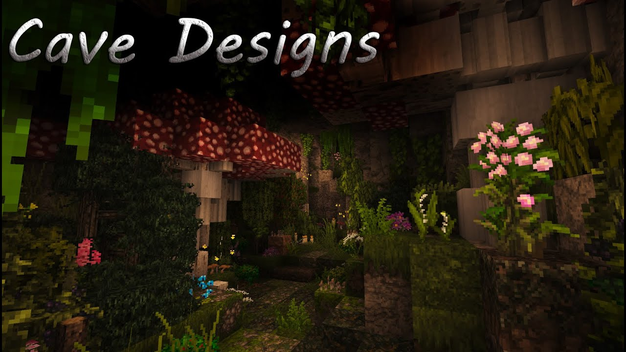Minecraft Tutorial Cave Designs