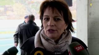 Tagesinfo Kanal 9 Eröffnung Abschnitt Leuk-Gampel 25.11.2016