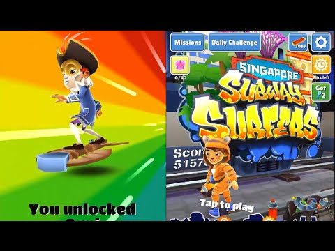 Subway Surfers Venice VS Singapore iPad Gameplay for Kids HD