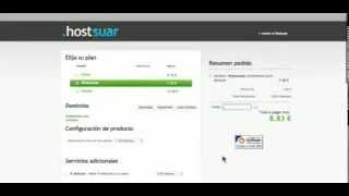 Cómo utilizar el código promocional de Hostsuar.com