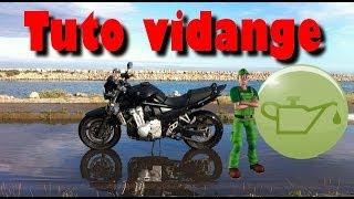 J'entretien ma moto : Vidange / Oil change | Bandit 650N |