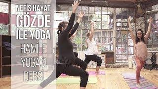 HAMİLE YOGASI | Tüm Trimesterlere Uygun ve Evde Yapabileceğiniz Hamile Yogası Dersi | Gözde İle Yoga