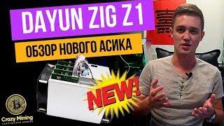 Обзор нового асика DAYUN Zig Z1. Как успеть окупить асик? Золотое правило майнинга - первый батч!