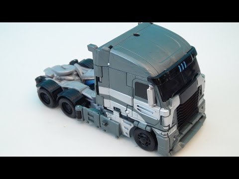 TRANSFORMERS 4 GALVATRON AGE OF EXTINCTION VOYAGER VIDEO TOY REVIEW