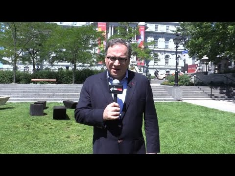 """Ezra in Montreal: Taking the anti-OPEC, pro-""""ethical oil"""" message to the streets"""