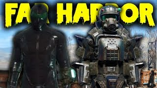 Fallout 4 Far Harbor DLC - Full ASSAULT MARINE ARMOR Set Location & Wetsuit ! (Fallout 4 Best Armor)