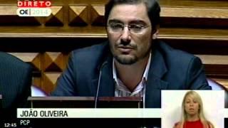 PCP confronta Ministro Administração Interna com as propostas para o Orçamento do Estado para 2014