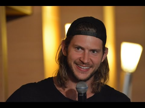 Jus in Bello 2015 JIB6  Greyston Holt about meeting his personal Idol