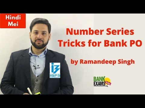 Number Series Tricks for Bank PO by Ramandeep Singh