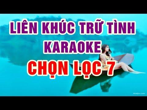 Liên Khúc Trữ Tình Karaoke Chọn Lọc 7 - Nhạc Sống Thanh Ngân